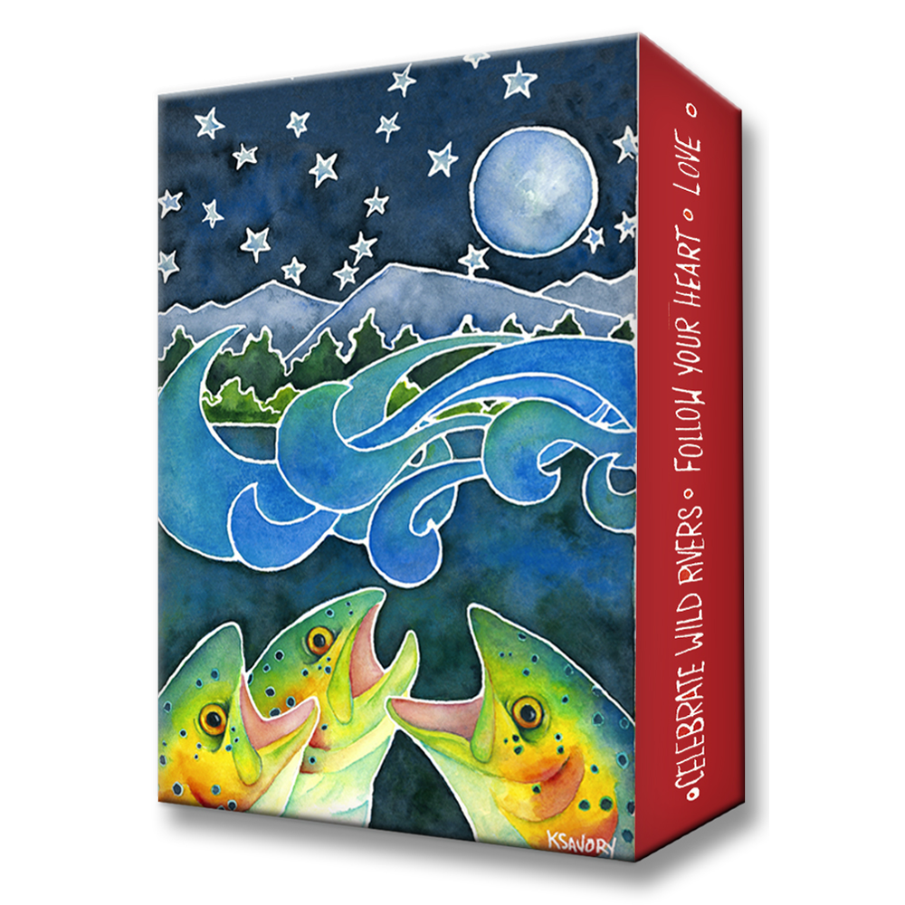 Karen Savory Moonrise Soiree Metal Box Art by Meissenburg Designs