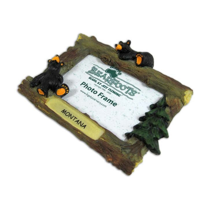Bearfoots 2x3 Fridge Frame by Big Sky Carvers