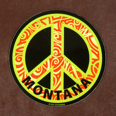 Peace Montana Sticker