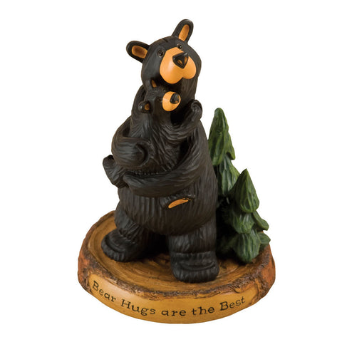 Bear Hugs Bearfoots Figurine by Jeff Fleming