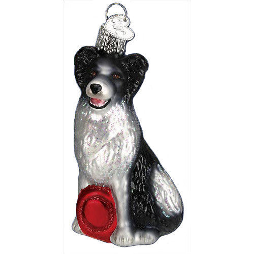 Border Collie Ornament by Old World Christmas