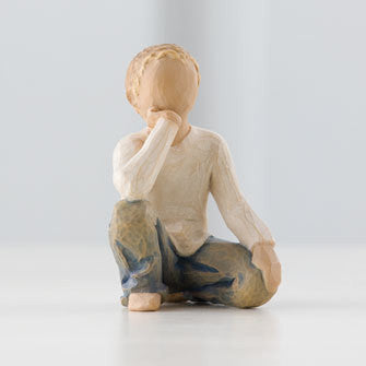 Inquisitive Child Willow Tree Figurine by Susan Lordi