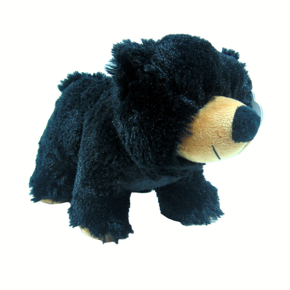 "10"" Standing Black Bear by Wishpets"