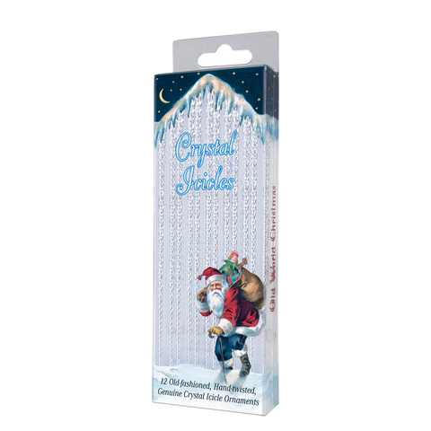 Crystal Icicle Ornaments by Old World Christmas