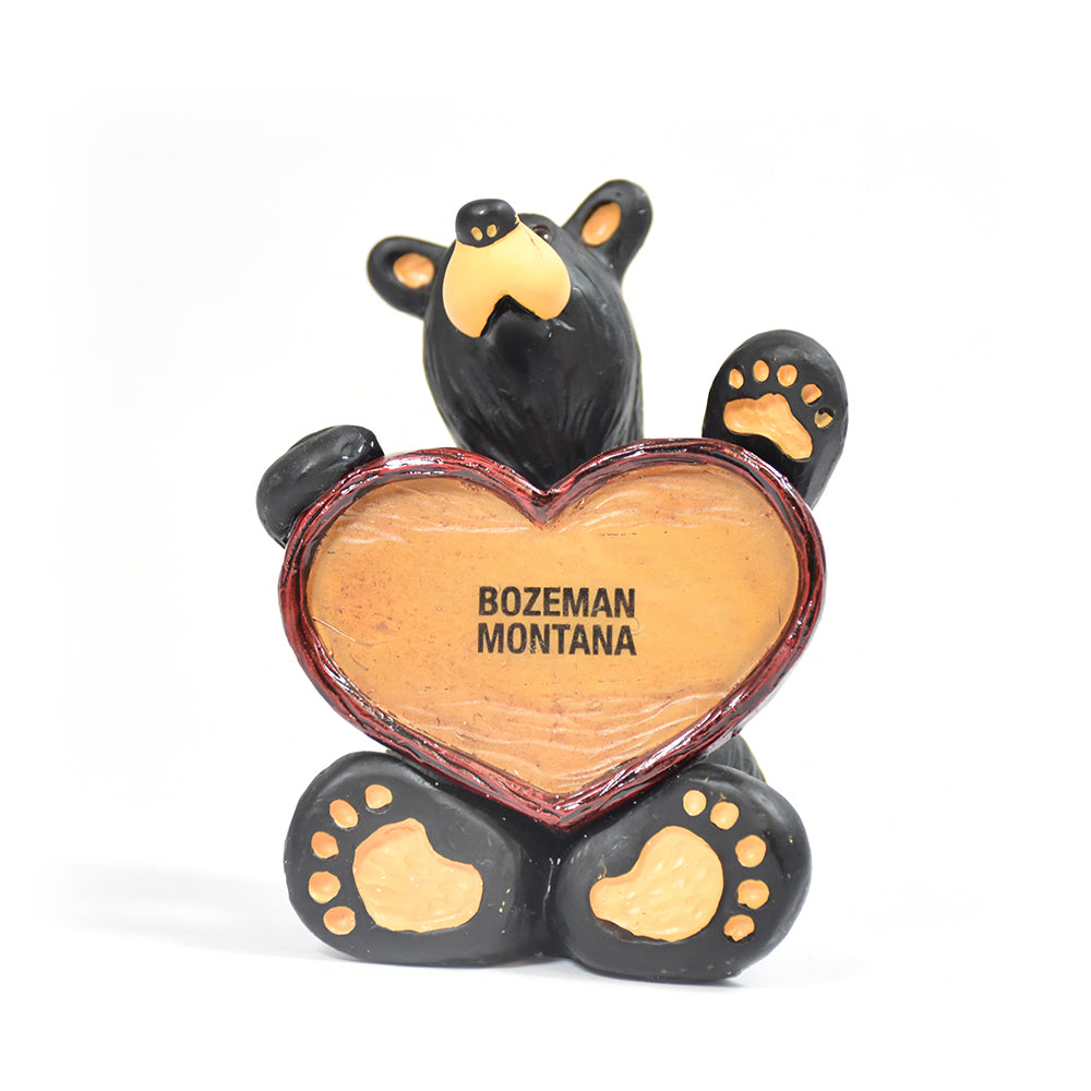 Bearfoots Bears Bozeman Montana Bears Love This Place Figurine by Jeff Fleming by Big Sky Carvers at Montana Gift Corral