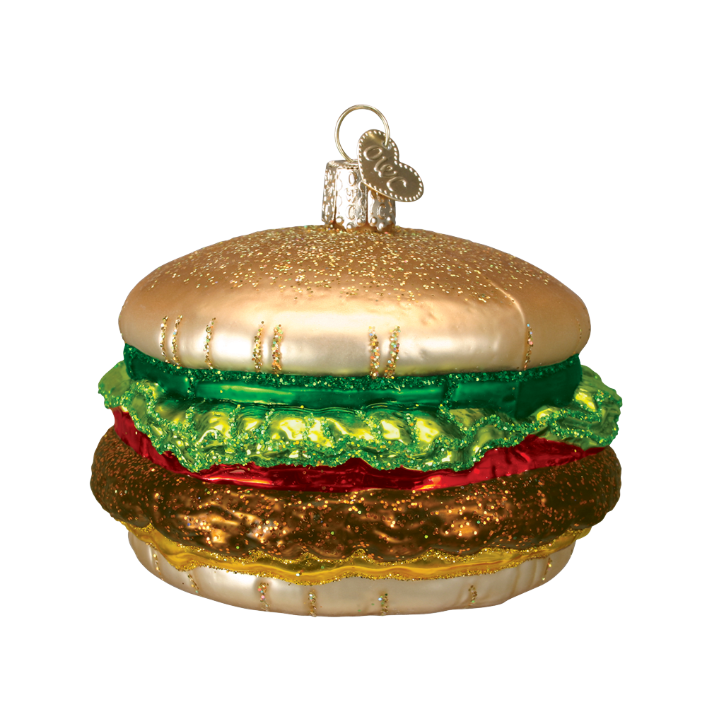Cheeseburger Ornament by Old World Christmas
