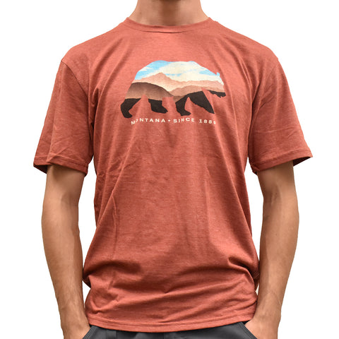 Chili Keenness Bear Mountains Shirt by Lakeshirts