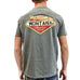 Back Behemoth Cutthroat Trout T-Shirt by Prairie Mountain at Montana Gift Corral