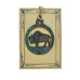 Patina Buffalo Rustic Wildlife Christmas Ornaments by H&K Studios