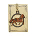 Copper Horse Rustic Wildlife Christmas Ornaments by H&K Studios