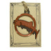 Copper Fish Rustic Wildlife Christmas Ornaments by H&K Studios