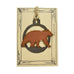 Copper Bear Rustic Wildlife Christmas Ornaments by H&K Studios