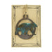 Patina Bear Rustic Wildlife Christmas Ornaments by H&K Studios