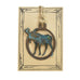 Patina Moose Rustic Wildlife Christmas Ornaments by H&K Studios