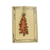 Copper Pine Tree Rustic Montana Christmas Ornaments by H&K Studios