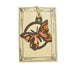 Copper Butterfly Rustic Wildlife Christmas Ornaments by H&K Studios