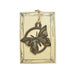 Patina Butterfly Rustic Wildlife Christmas Ornaments by H&K Studios