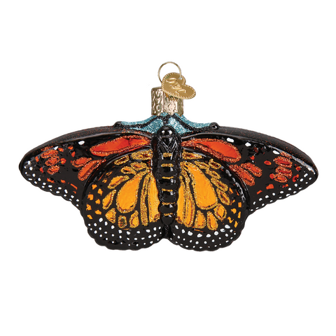 Monarch Butterfly Ornament by Old World Christmas