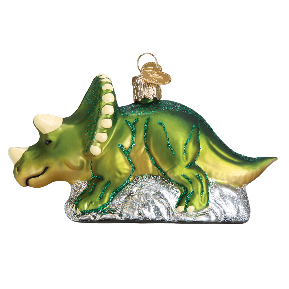 Triceratops Ornament by Old World Christmas