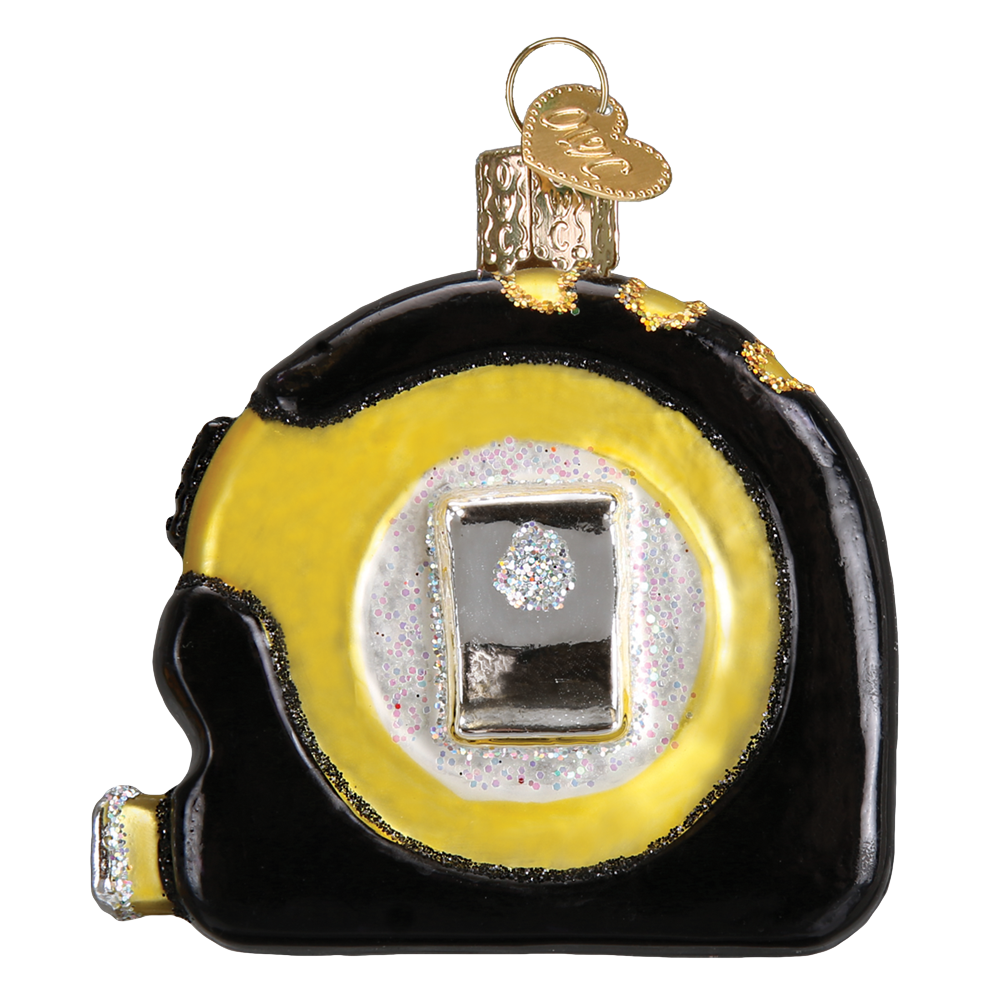 Tape Measure Ornament by Old World Christmas