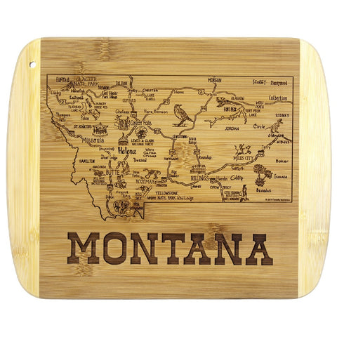 A Slice of Montana Cutting Board