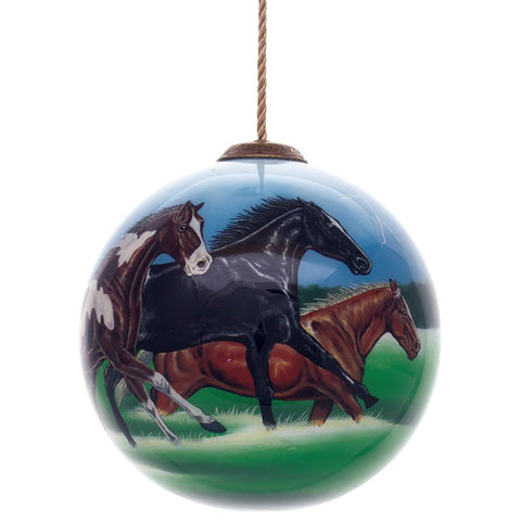 Abraham Hunter Horse Power Christmas Ornament by Inner Beauty