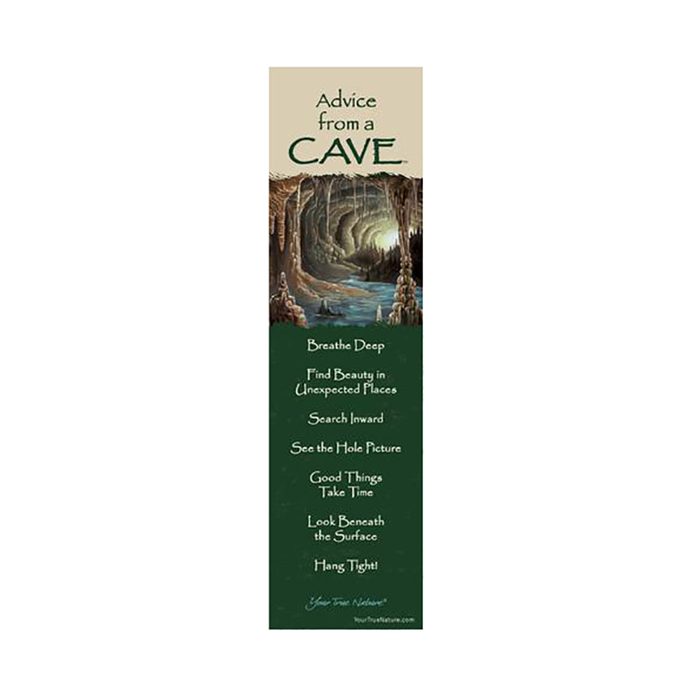 Advice from a Cave Bookmark