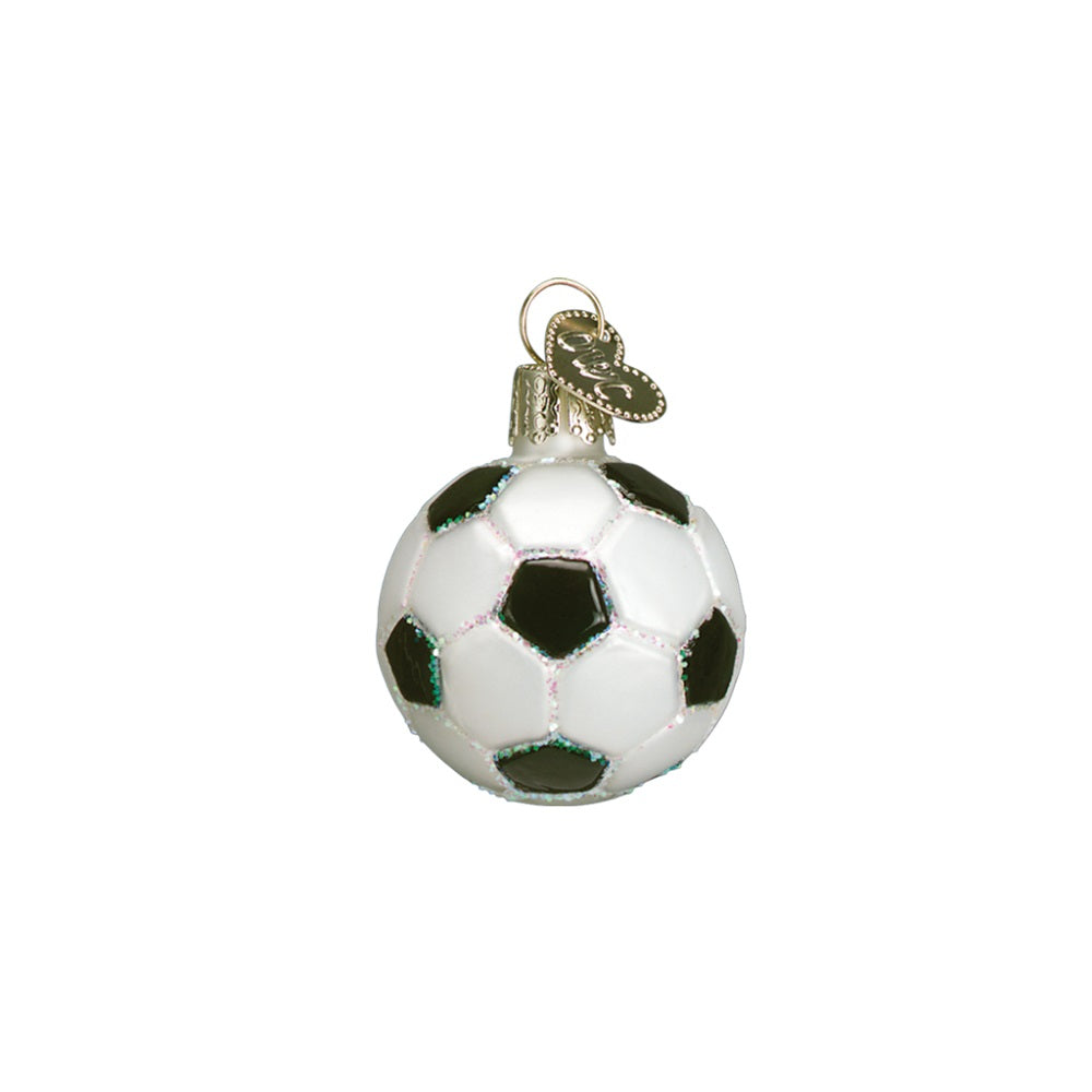 Soccer Ball Assorted Miniature Sports Ball Christmas Ornaments by Old World Christmas at Montana Gift Corral
