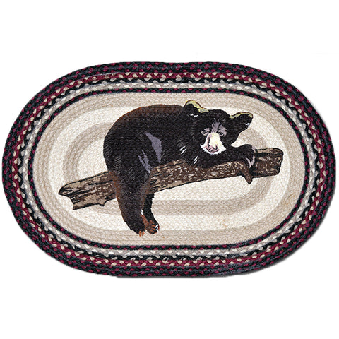Oval Patch Rug by Capitol Earth Rugs (Baby Bear)