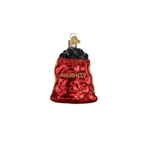 Every family has a little troublemaker and Santa being so vigilant during the Christmas season doesn't always make it easier! The Bag of Coal Ornament by Old World Christmas is a great gift and reminder for any mischief-maker to be on their best behavior!