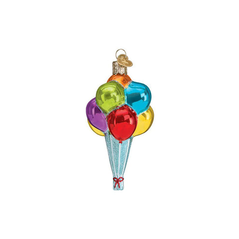 Whether your celebrating Christmas, a birthday or just really love balloons the Balloons Ornament by Old World Christmas is a great ornament for adding some non-traditional colors to your tree!