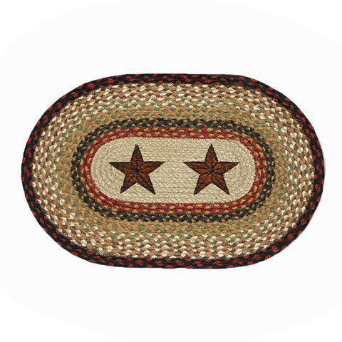 Barn Stars Placemat by Capitol Earth Rugs