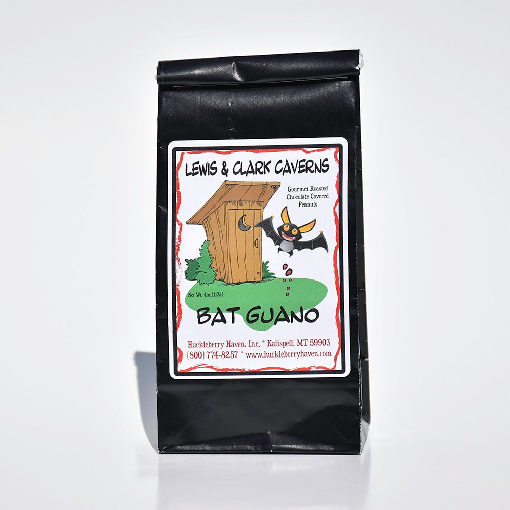 Bat Guano Chocolate Covered Peanuts by Huckleberry Haven