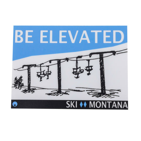 Be Elevated Sticker by Quipet