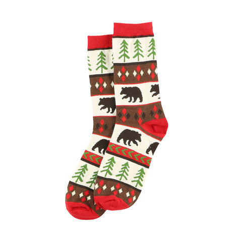 Bear Essentials Socks by Lazy One