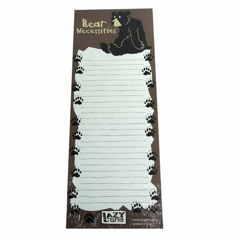 Bear Necessities To Do List Pad by Lazy One