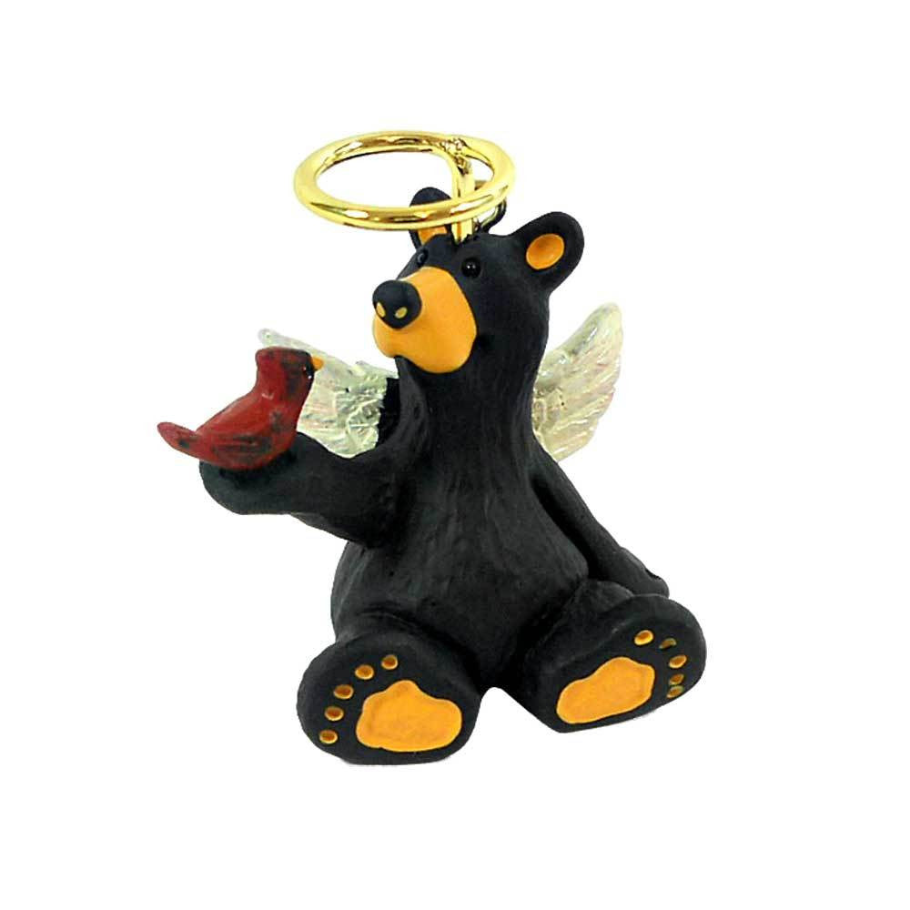 Angel Sitting Bear Bearfoots Ornament by Jeff Fleming