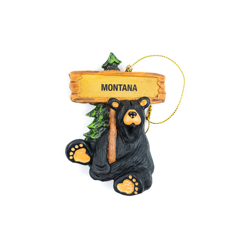 With new visitors coming in and out every day to catch a glimpse of what Montana offers, we are no stranger to adventurers and travelers! The Bearfoots Bart Welcomes You Montana Ornament by Jeff Fleming is a great welcoming gift to any out-of-state friends and family!