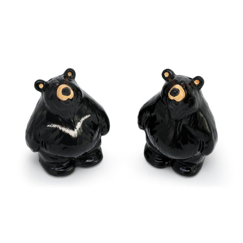 Bearfoots Bear Figural Salt and Pepper Shakers