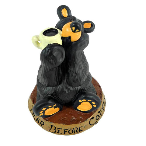 Bearfoot Coffee Bear Figurine