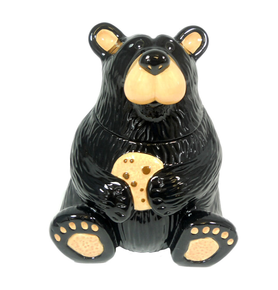 Bearfoots Cookie Jar by Jeff Fleming