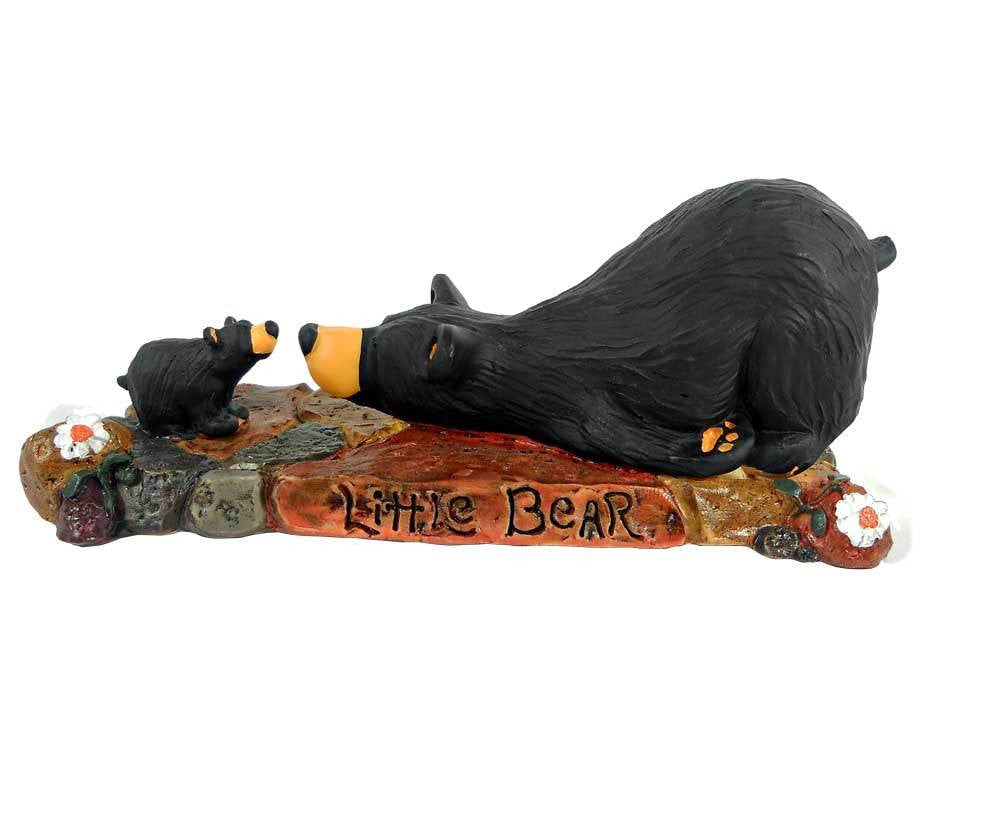 Bearfoot Little Bear Figurine by Big Sky Carvers