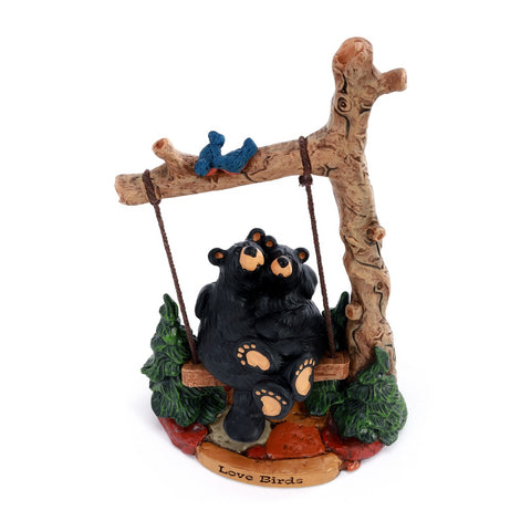 Bearfoots Love Birds Figurine by Jeff Fleming