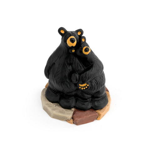 Bearfoots Love You Beary Much Figurine by Jeff Fleming