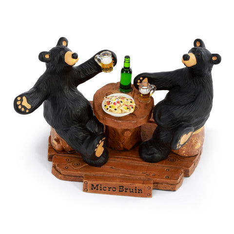 The Bearfoots Micro Bruins Bears Figurine by Jeff Fleming is the perfect figurine for any collectors of Bearfoots Bears!