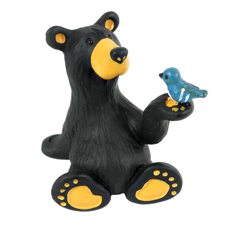 Bearfoot Minnie Bear with Mini Figurine by Big Sky Carvers