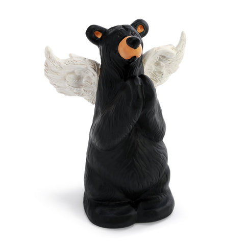The Bearfoots Prayer Angel Bear Figurine by Jeff Fleming is perfect for letting anyone know that your sending some love their way!