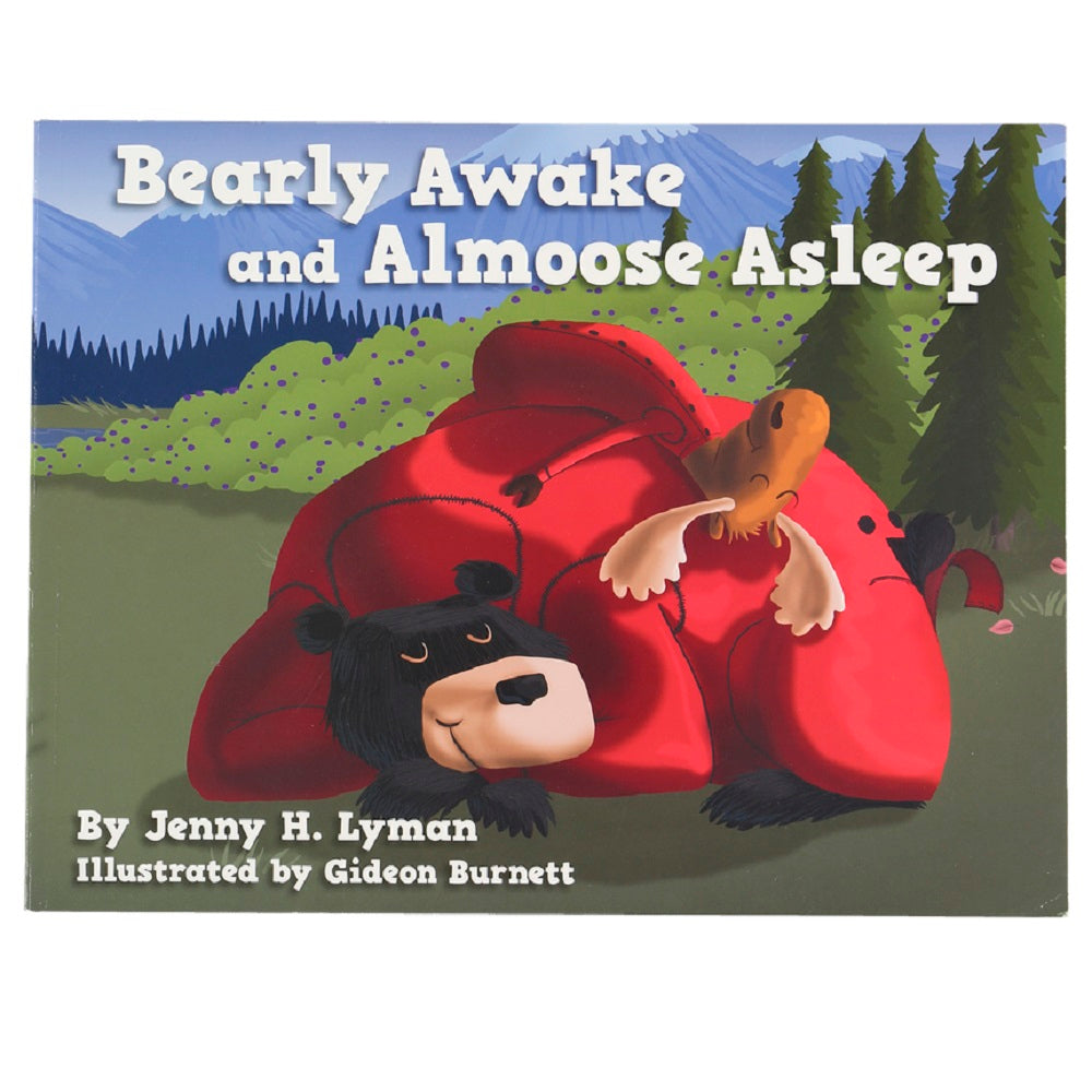Bearly Awake and Almoose Asleep Book by Lazy One