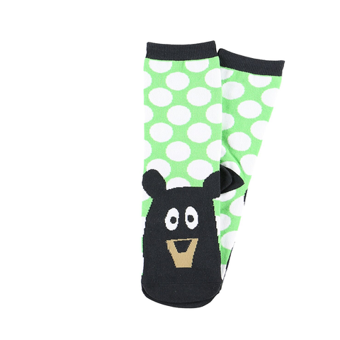Bearly Tired Crew Socks by Lazy One