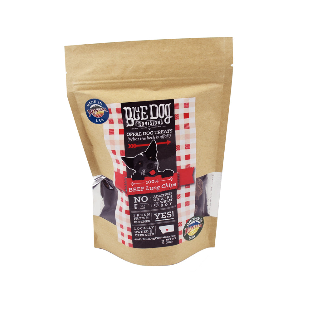 Beef Lung Chips by Blue Dog Provisions